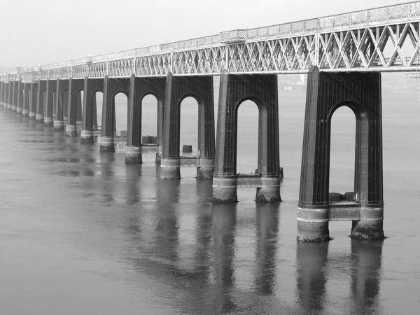 Mile 101 - Tay Bridge. Sponsored by Anna Vachon, Stephanie Kiel and Jim Hampson.