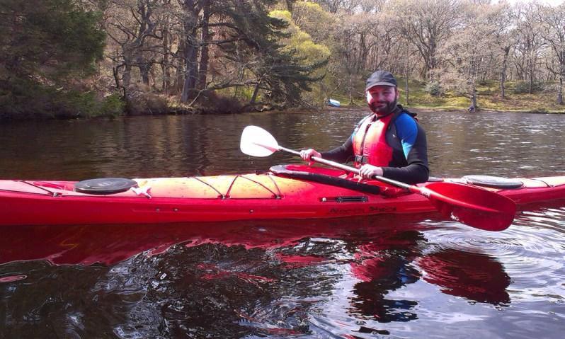 Sea Kayaking on Loch Dochfour