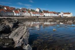 The Fife coast at Pittenweem