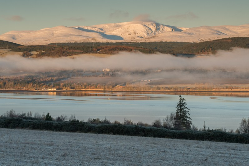 Ben Wyvis Mist Inversion, Black Isle