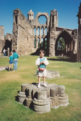 Elgin Cathedral, July 1990