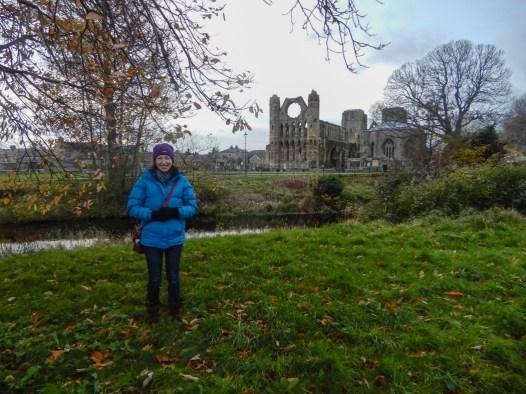 Elgin Cathedral, November 2017