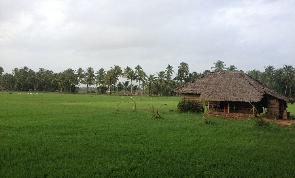 Traditional houses in Kerala