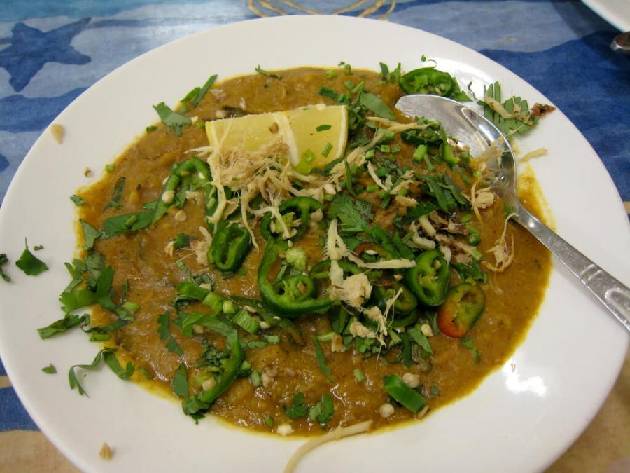 Haleem. Photo by Charles Haynes.