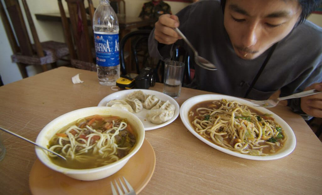 Ladakhi Food. Photo by snotch.
