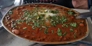 Dal Makhani at Sethi Dhaba, Chandigarh. Photo © Karl Rock.