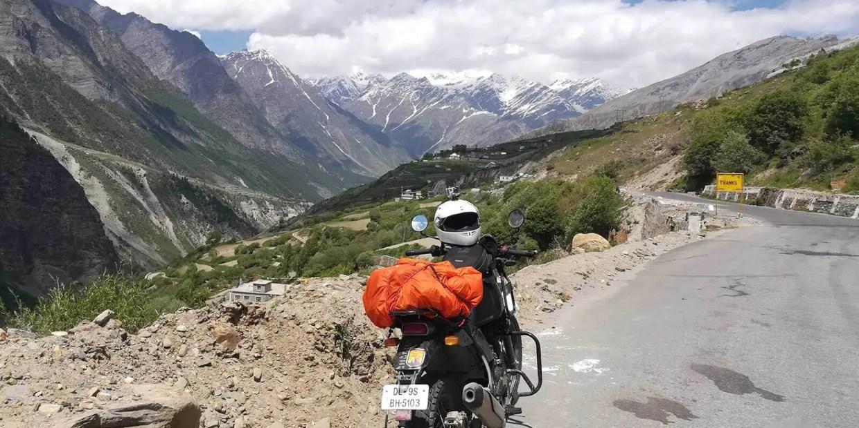 Royal Enfield Himalayan in Himachal Pradesh. Photo © Karl Rock.