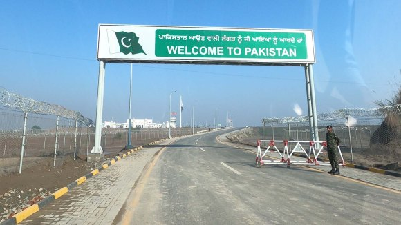 Welcome to Pakistan Sign