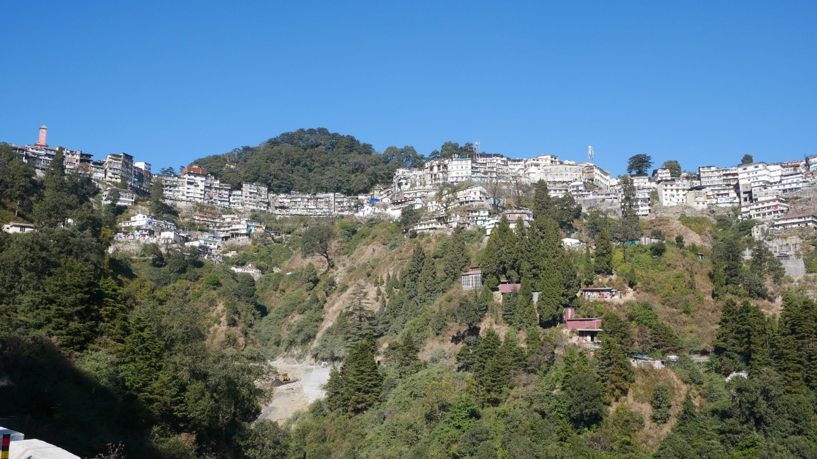 Landour Hill Station Wide View