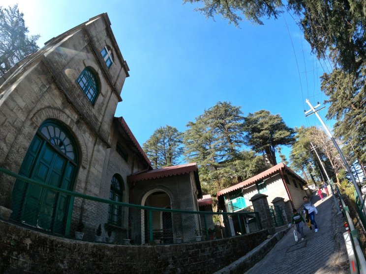 Landour Language School From the Side Stree