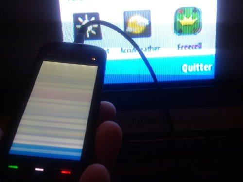 Nokia 5800 XpressMusic - Sortie TV