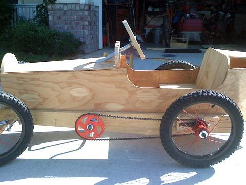 how to build a wooden go kart step by step