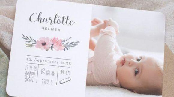 contoh kartu nama bayi