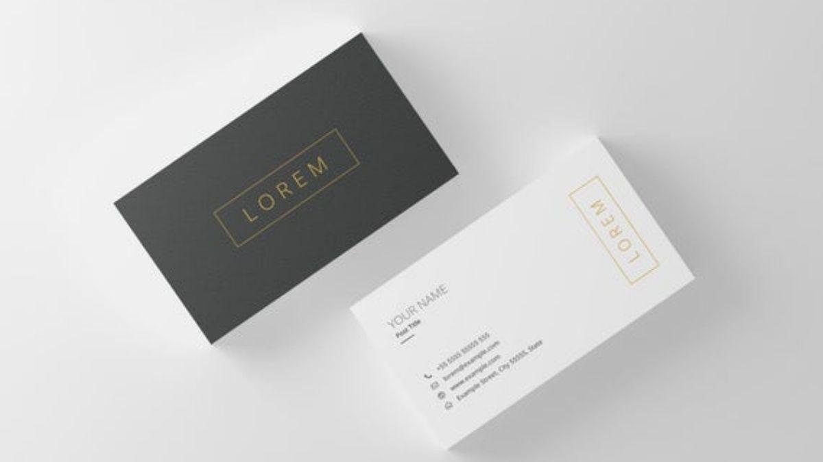 Contoh Kartu Nama Simpel & Tips Membuat Desainnya!
