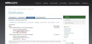 VMware Certificates