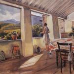 Выставка работ Зинаиды Серебряковой