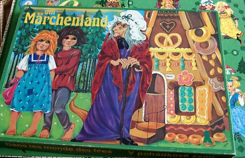немецкая настольная игра сказочная страна - marchland