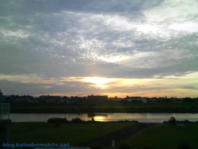 多摩川 2007 早朝 2