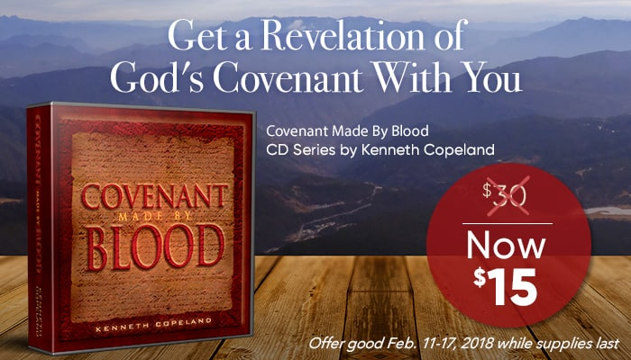 Covenant Made by Blood CD Series by Kenneth Copeland