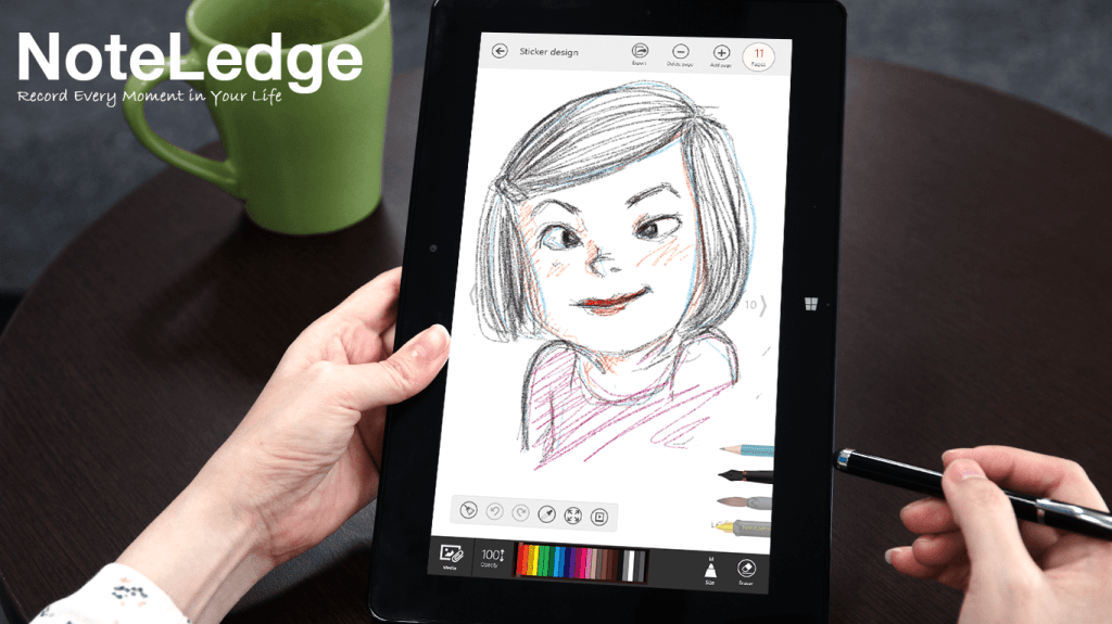 NoteLedge for Windows 8