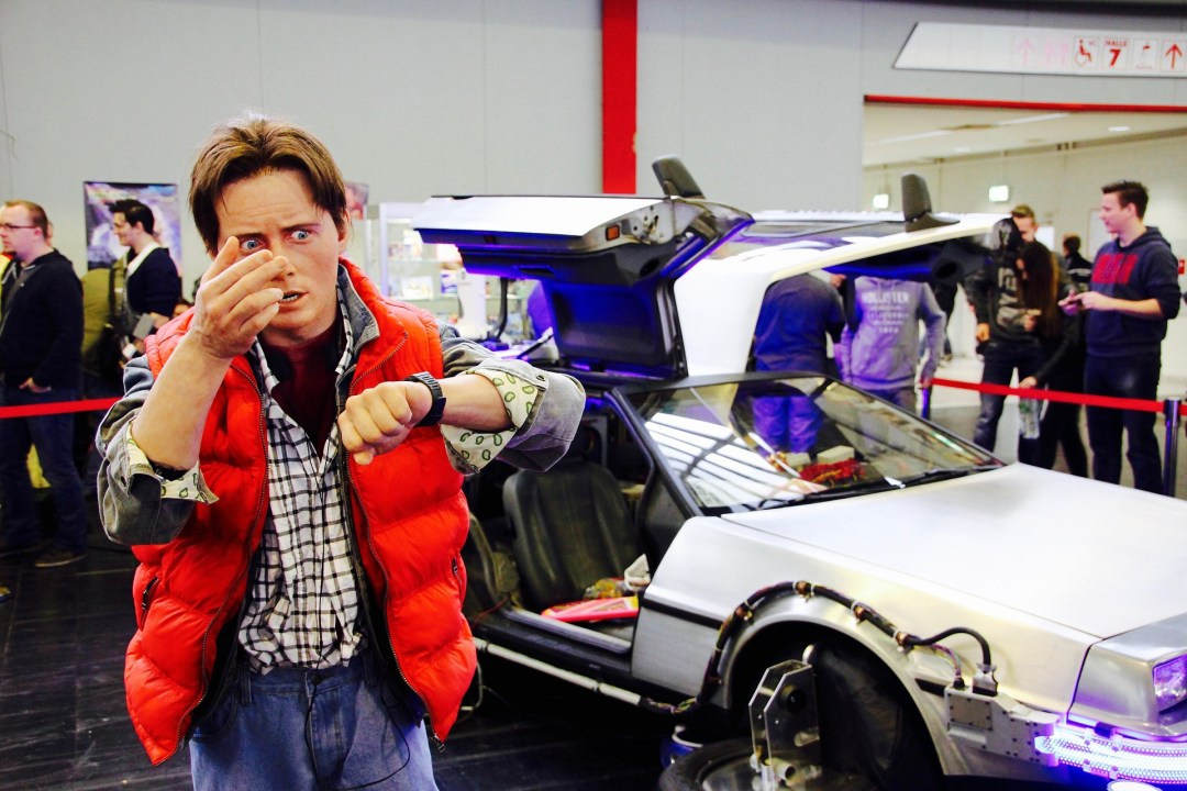 Back to the Future Wax figure, 3dman_eu pixabay.com
