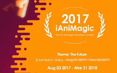 Big Changes for the 7th iAniMagic Animation Contest