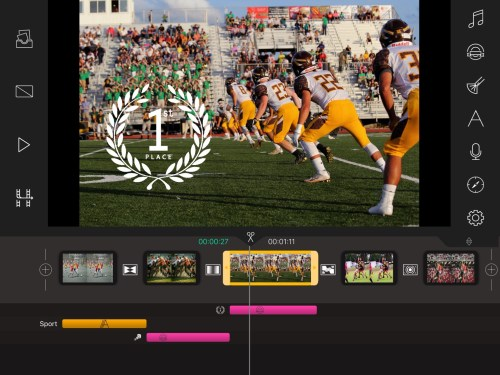 write-on video-sports day