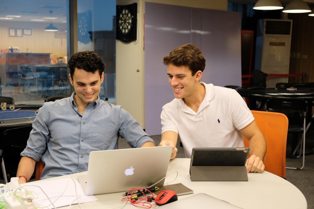 Both Joey and Chris bring entrepreneurial experience with them from their undergraduate careers. Joey started AssureTech, LLC, and Chris started the brand 10K Reps during their junior years.