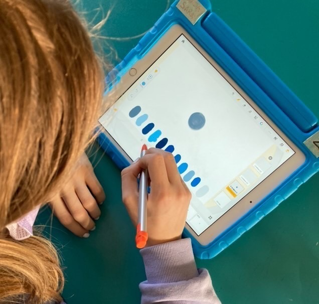 Children in hospital create animation with an animation app called Animation Desk
