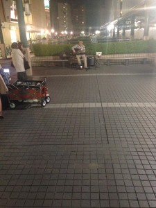 日本街头艺人
