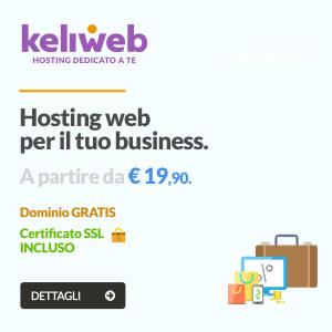 hosting web professionale