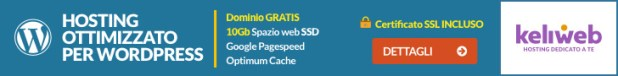 hosting per wordpress