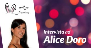 marketing intervista alice doro