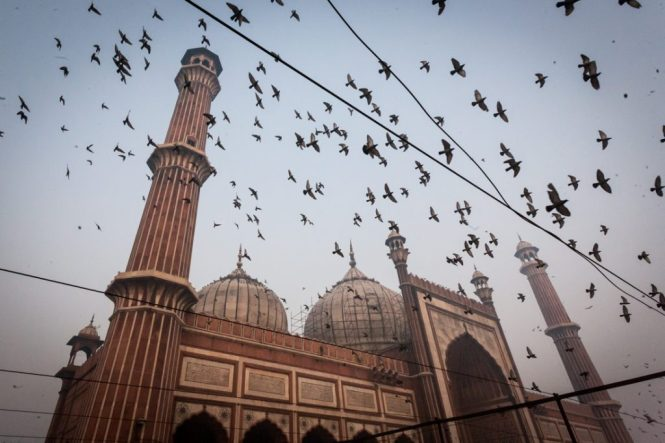 The Jama Masjid in Delhi