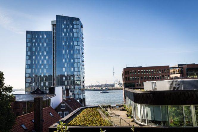 Buildings in Hamburg, Germany