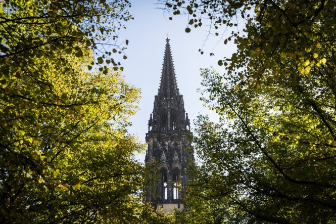 St. Nicholas Church in Hamburg, Germany