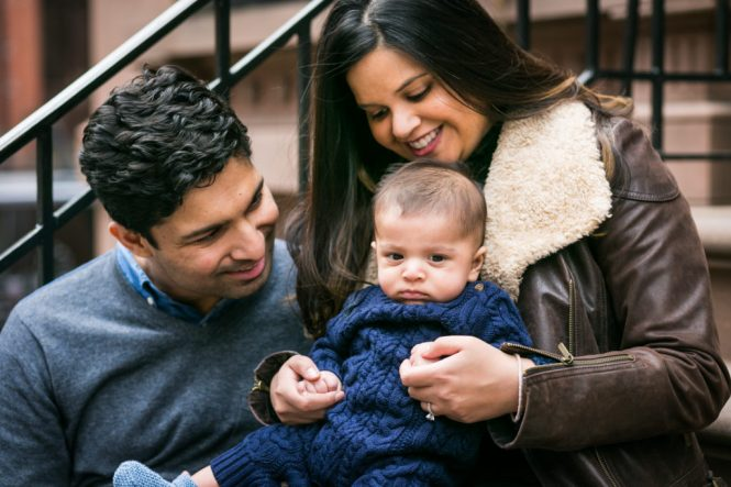 Brooklyn Heights baby portrait for an article on image file size and resolution