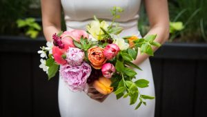 Flowers for a SoHo wedding