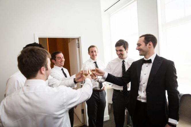 Getting ready for a Maritime Parc wedding