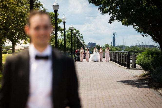 First look at a Maritime Parc wedding