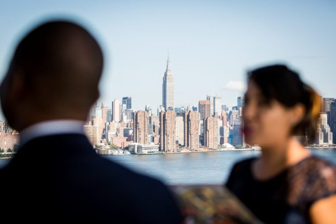 View of the Empire State Building for an article on elopement tips