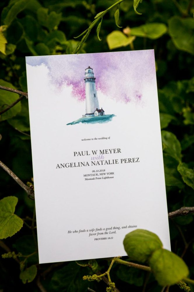 Invitation for an article on Montauk Lighthouse wedding tips
