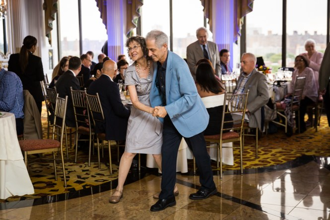 Guests dancing for article on a Terrace on the Park wedding