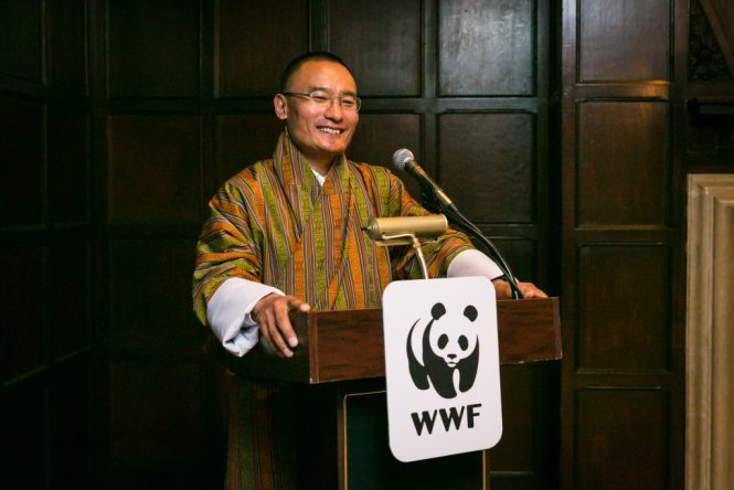 Speaker at World Wildlife Fund event