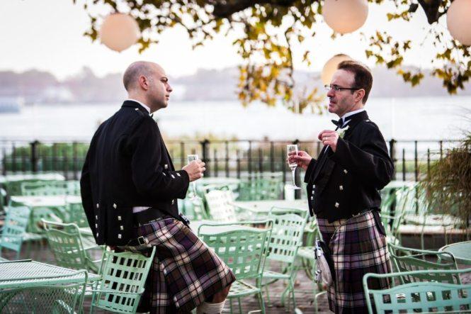 Battery Gardens wedding photos by NYC wedding photojournalist, Kelly Williams