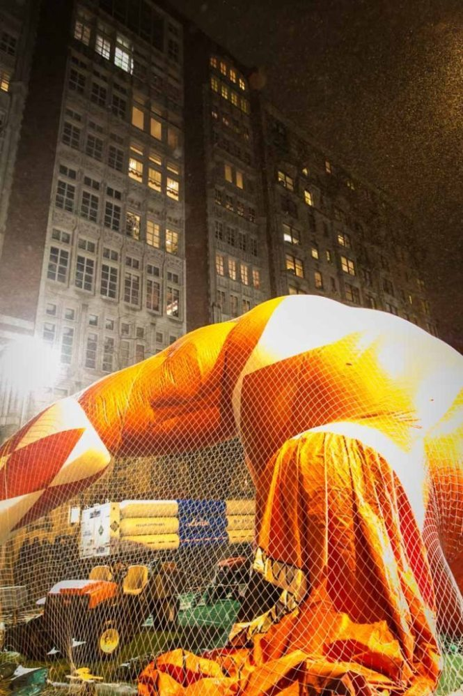 Macy's Thanksgiving Day Parade Inflation Celebration, by photographer Kelly Williams