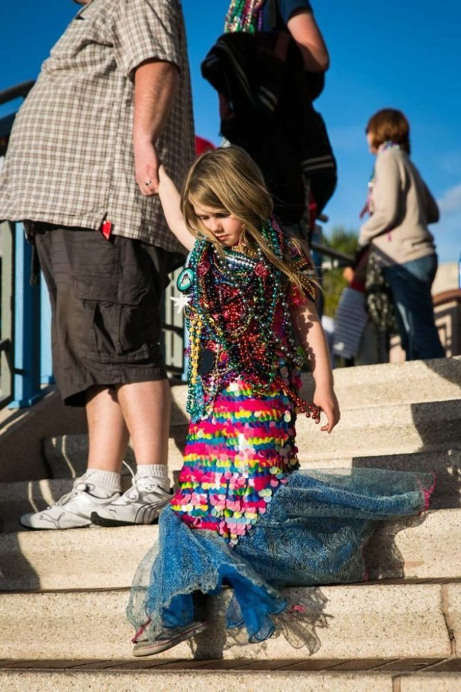 The littlest mermaid, by NYC photojouralist, Kelly Williams.