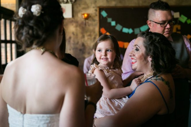 Photo for an article on how to trim your wedding guest list, by NYC wedding photojournalist, Kelly Williams