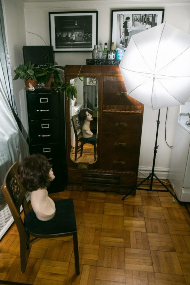 Lighting set up for a photo by NYC executive portrait photographer, Kelly Williams