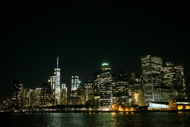 NYC skyline from Staten Island, by NYC photographer, Kelly Williams